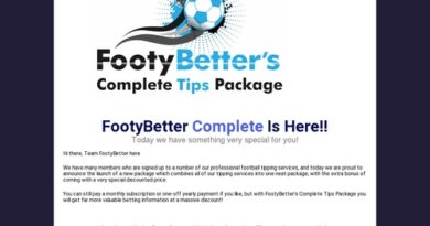 Complete Tips Package – FootyBetter